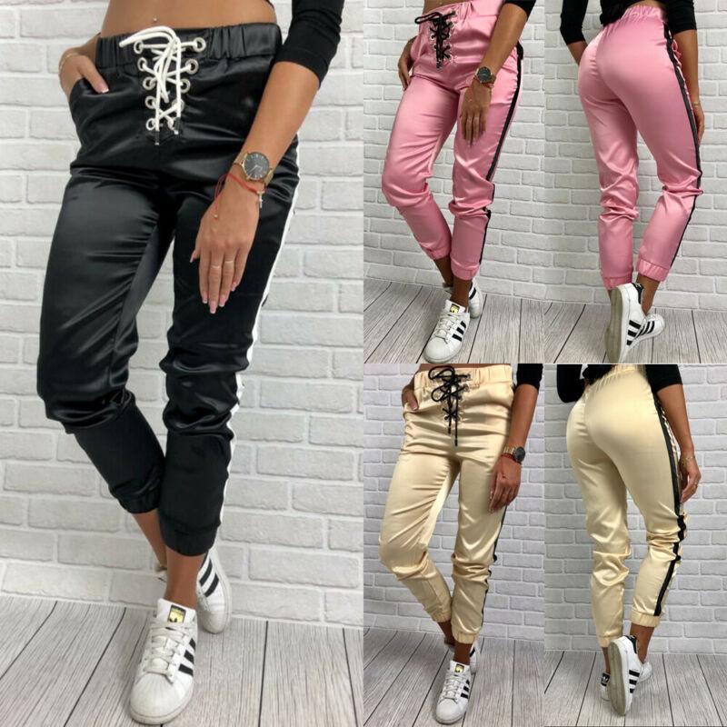 New Jogger Sweatpants Patchwork Hip Hop Streetwear Casual Trousers Men Women Workout Pants Fitness Stretch Trousers