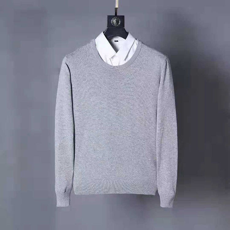 Men Small Pony O-neck Cotton Horse Sweater Autumn Winter Jersey Jumper Hombre Pull Homme Hiver Pullover Men Knitted Sweaters