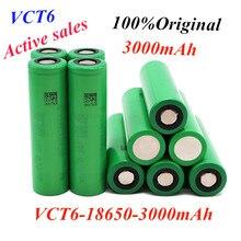 18650 original 3.7V 3000 mAh Li ion rechargeable battery for us18650 vtc6 20A 3000mah for Sony toys tools flashlight