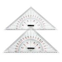 Triângulo Régua de Desenho gráfico para o Desenho do Navio 300 milímetros Grande-Escala Triângulo Régua para Medição de Distância Ensino de Engenharia Des