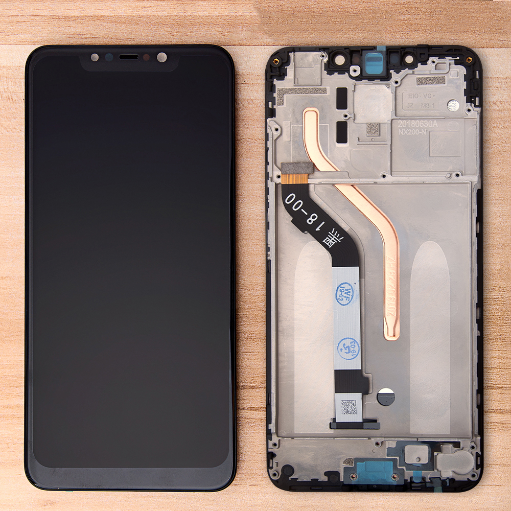 Original <font><b>2018</b></font> 6.18'' Display For Xiaomi Pocophone <font><b>F1</b></font> LCD Touch Screen Assembly Frame Digitizer For Xiaomi Pocophone <font><b>F1</b></font> LCD image