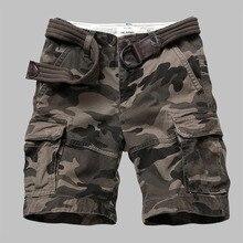 Мужские камуфляжные военные тактические шорты, износостойкие дышащие комбинезоны с несколькими карманами, спортивные шорты для скалолаза...