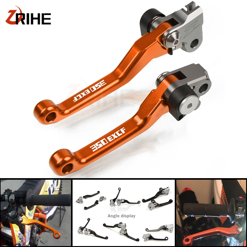 <font><b>350</b></font> <font><b>EXC</b></font>-<font><b>F</b></font> Motorcycle Dirt Bike Brake Clutch Levers Motorcross Alunimun handle levers FOR <font><b>KTM</b></font> 350EXC-<font><b>F</b></font> 2014 2015 <font><b>2016</b></font> 2017 2018 image