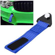 Racing Car Tow Strap Towing Rope Universal High Strength Racing Car Tow Straps Tow Ropes For Front Rear Bumper Towing Hook