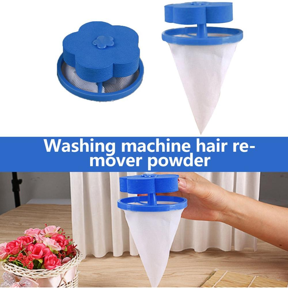 Filter Bags Net Plum-Shaped Washing Machine Laundry Floating Lint Hair Catcher