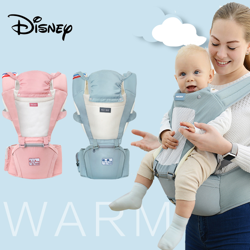 Disney Baby Carrier Ergonomic Breathable 20kg Infant Comfortable Sling Backpack Pouch Wrap Carriers 0-36 Months Baby Sling New