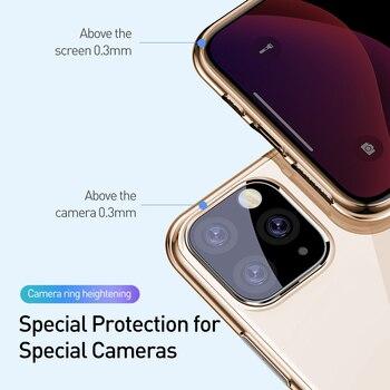 Прозрачный чехол Baseus для телефона iPhone 12 11 Pro XS Max Xr X