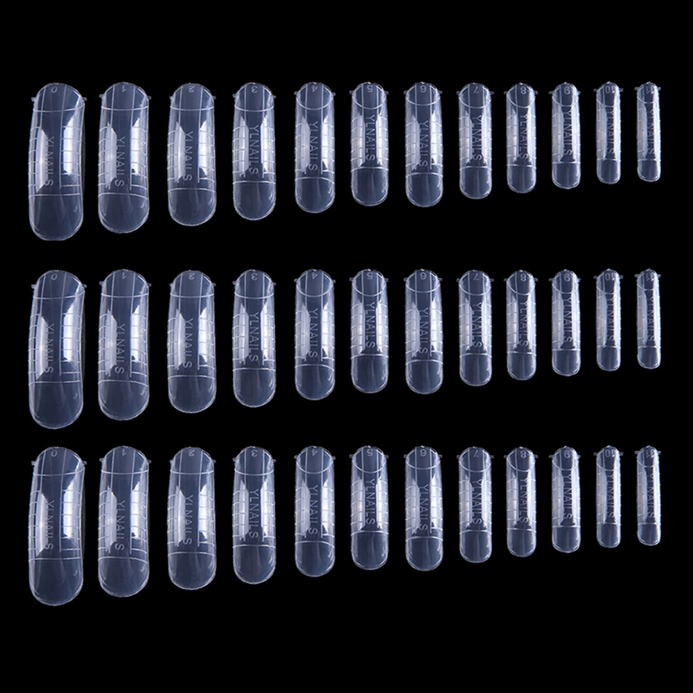 MIZHSE Quick Building 36pcs Nail Forms Finger Extension Polygel Tips 10pcs Fiberglass Nail Forms Tool False Nail DIY Manicure