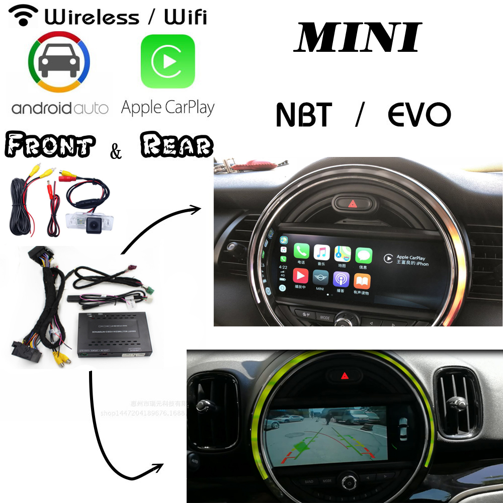 Carplay For BMW MINI Clubman/ Clubvan R55/ Countryman R60 Android Carlif Screen Interface