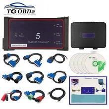 USB/Bluetooth Dpa5 адаптер протокола Dearborn 5 сканер для тяжелых грузовиков CNH DPA 5 работает для нескольких брендов Поддержка нескольких языков