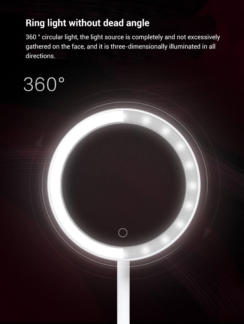 有 鱼 精选 DOCO- 日光 小白 镜 - 单面 圆形 美 妆 镜 - 小米 有 品 _16