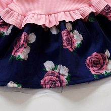 Floral Bow Dresses for Kids Girls Clothing