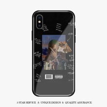 FRANK OCEAN Blonde RAPPER Coque Tempered Glass Phone Case Cover Shell For apple iPhone 6 6s 7 8 Plus X XR XS 11 Pro MAX(China)