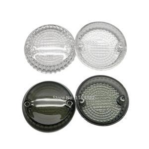 Motorcycle Smoke Turn Signals Indicators Lens Cover Front/Rear For Kawasaki Vulcan 500 1500 Zephyr for Yamaha Warrior V-Star