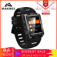 Makibes G08 1 Jahr Garantie GPS Uhr Kompass Armbanduhr Bluetooth Smart Uhren Wasserdicht Herz Rate Multi-sport Doppel Elf