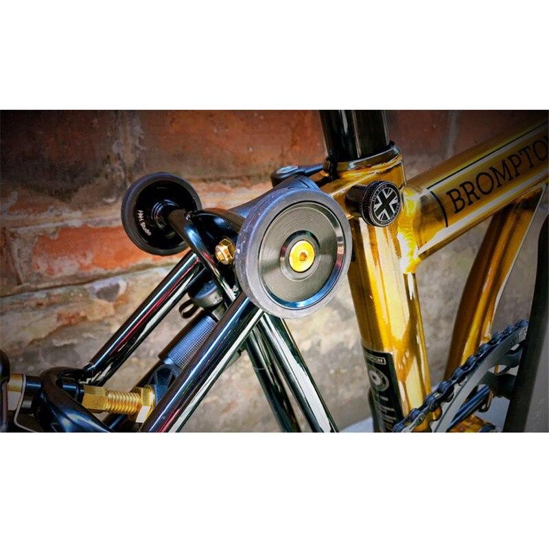 Folding Bicycle Easy Wheel Titanium Bolt For Brompton Bike Screw Gold Silver Black Ultra Light Titanium