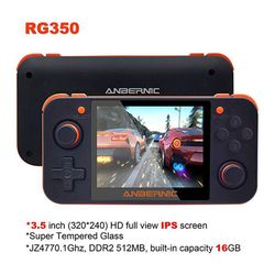 Handheld Game Spelers RG350 Retro Handheld Game Console Gratis Met 32G Tf Card Ips Scherm Draagbare Video Game Console