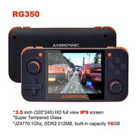 Handheld Game Players RG350 Retro Handheld Game Console Free With 32G TF Card IPS Screen Portable Video Game Console