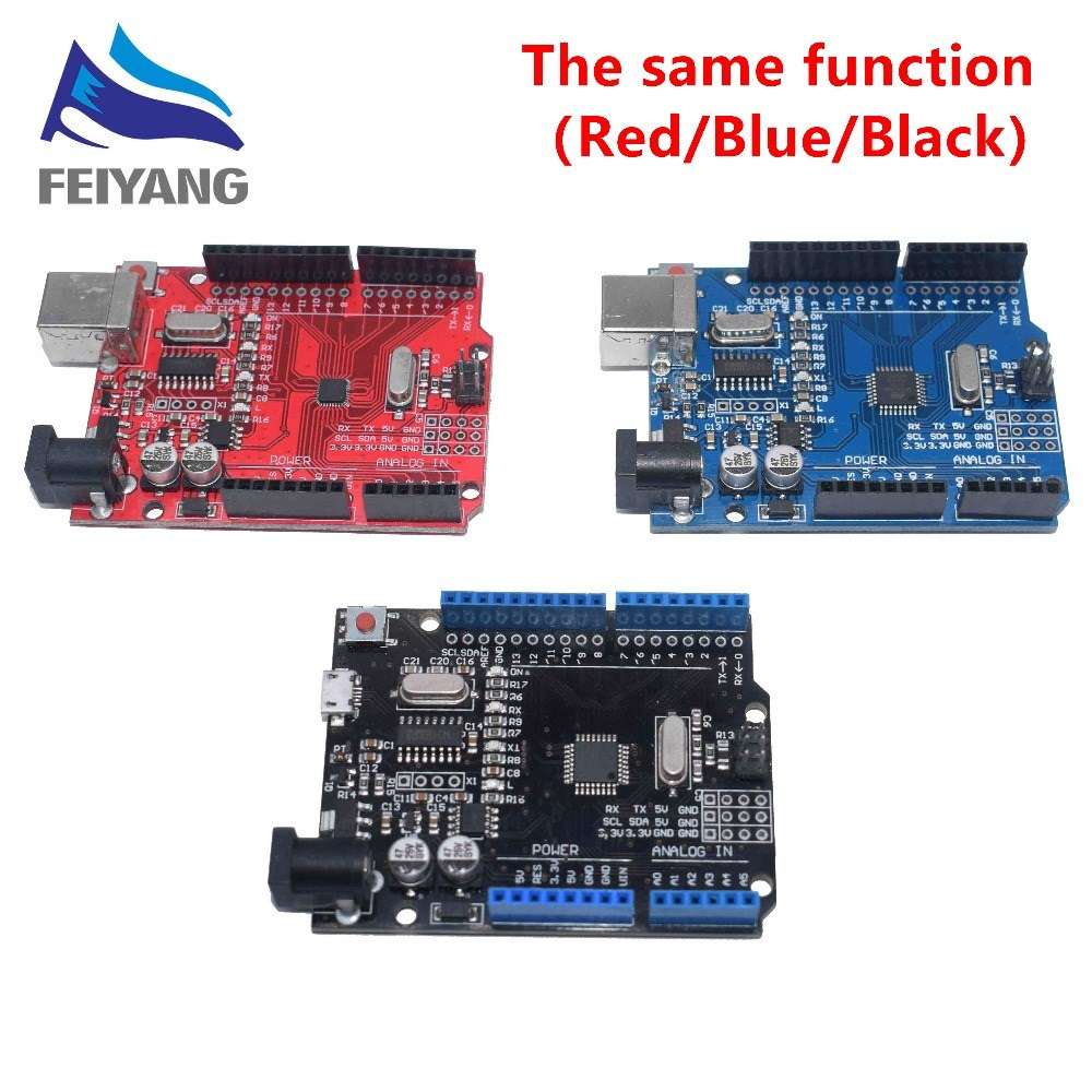 one-set-black-blue-red-uno-r3-ch340g-mega328p-chip-16mhz-uno-r3-for-font-b-arduino-b-font