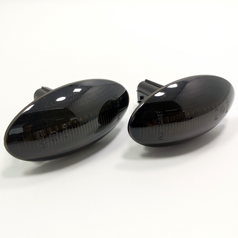 Modern Styling LED Side Indicator Repeater Turn Signal Blinker For Mazda 2 3 5 6 GG GY MPS BT-50 MPV Smoked Clear Dynamic Lights