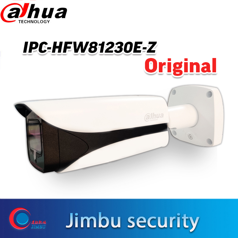 Original <font><b>Dahua</b></font> 4K <font><b>12mp</b></font> motorized lens IR 50m bullet outdoor PoE <font><b>IP</b></font> <font><b>Camera</b></font> IPC-HFW81230E-Z image