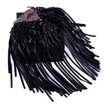 2 Pcs Creative Clothing Accessories Jewelry Suit Jacket Chain Tassel Patch Epaulette Shoulder Bag Luggage Shoes Beaded Shoulder