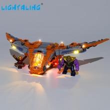 цена на Lightaling Led Light Kit For Thanos: Ultimate Battle Toys Building Blocks Compatible With 76107 ( Lighting Set Only )