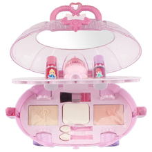 Crystal Love Mini Makeup Car Washable Real Children Makeup Set Makeup Play House Toy cheap CN (Herkunft) Be careful girl makeup toys 5-7 Years China zertifiziert (3C)