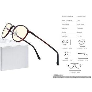 Image 4 - FONEX Ultem TR90 Anti lumière bleue lunettes hommes lunettes lunettes lunettes femmes Antiblue ordinateur de jeu lunettes AB04