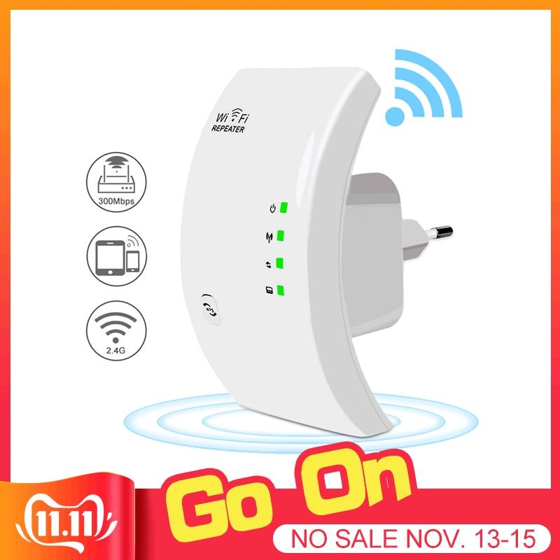 Easyidea sem fio wifi repetidor 300 mbps wi-fi extensor de longo alcance wi fi amplificador de sinal wi-fi impulsionador ponto acesso repiter wlan