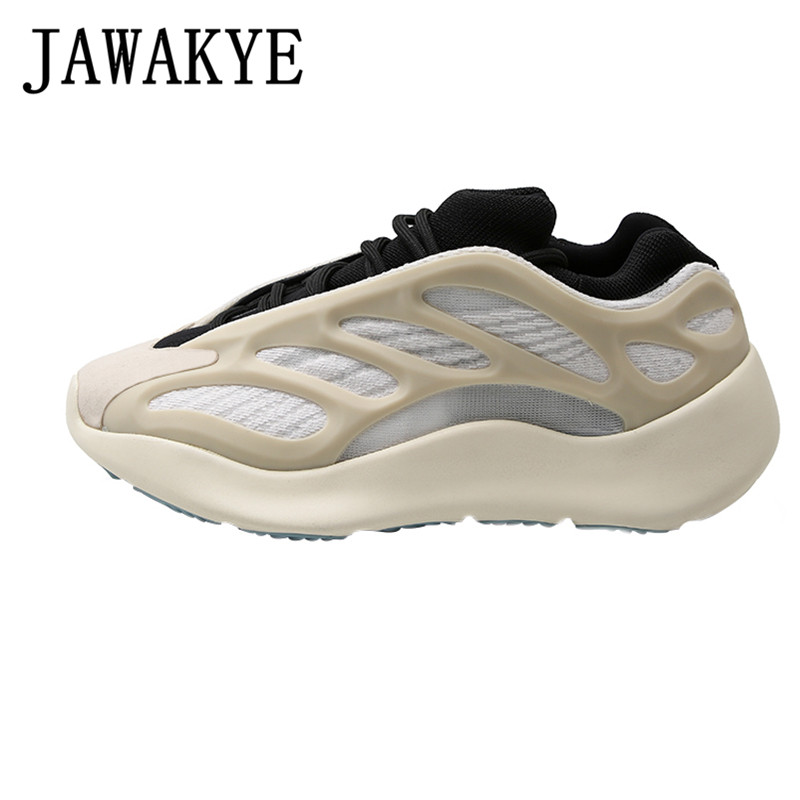 Spring Casual Shoes Shaped Luminous Dady Shoes Women Flat Heel Platform Sneakers 2020 Hot Sell Breathable Running Shoes