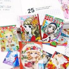 43 pçs anime menina adesivos/scrapbooking adesivos/adesivo decorativo/diy artesanato álbuns de fotos