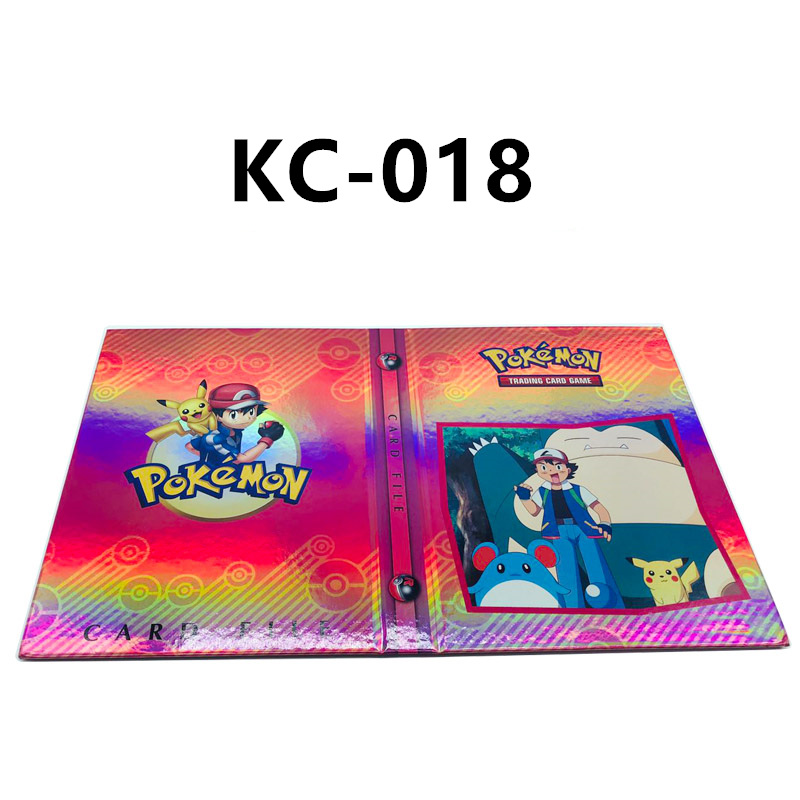 24 стиля Pokemon Cards альбом книга мультфильм аниме Карманный Монстр Пикачу 240 шт держатель альбомная игрушка для детей подарок