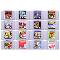 64 битная игра Action Adventure Games 1, картридж для видеоигр, консоль, карта на английском языке, версия США для Nintendo