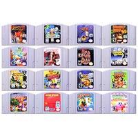64 Bit gra akcji gry przygodowe 1 wideo kartridż z grą karta konsoli język angielski US wersja dla Nintendo