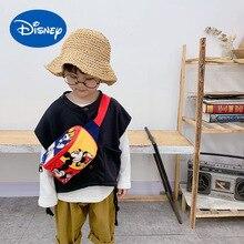 Coin-Purse Disney Chest-Bag Oxford-Cloth Small Girls Boys Korean Fashion Children's And