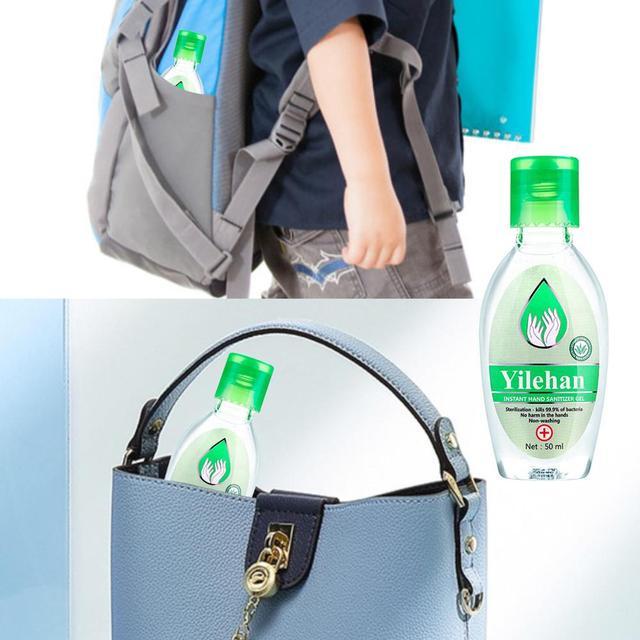 YOUNG VISION 55ml Travel Portable Hand Sanitizer Gel Anti-Bacteria Liquid Disposable No Clean Waterless Antibacterial Hand Gel 3