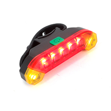 Bicycle light USB Rechargeable Mountain Bike Rear Tail Light Cycling Safety Warning Back Lamp Light Brand New Wholesales usb rechargeable bike led tail light bicycle safety cycling warning rear lamp bicycle back light 5 modes 2m16