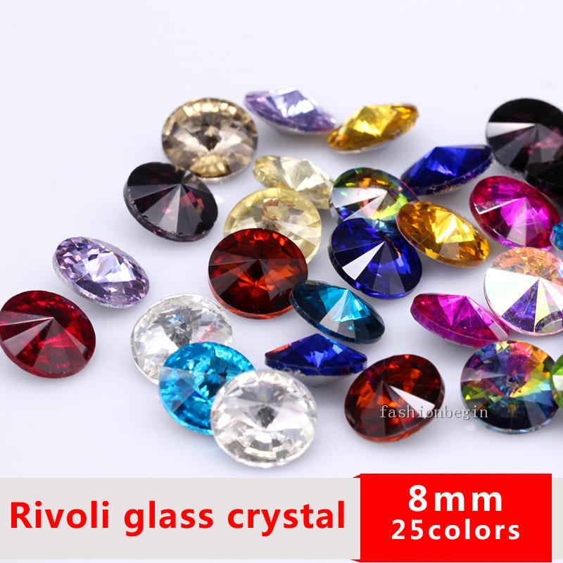 50p 10x14mm Pointu unfoiled Arrière Poire Acrylique Cristal Strass Bijoux Perles