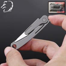 2020 титановый карманный складной нож mini tc4 брелок для ключей