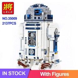 2137 sztuk Star Wars The R2d2 Robot kompatybilny 10225 05043 wars klocki klocki dzieci zabawki dla chłopców prezenty