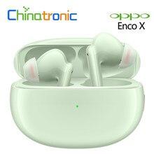 Oryginalny OPPO Enco X TWS słuchawki aktywny hałasu Cancellatio Bluetooth 5.2 DBEE 3.0 IP54 Qi ładowanie Wireless