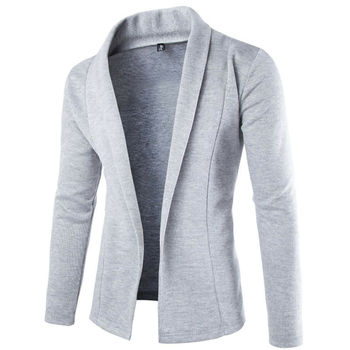 Men Slim Fit Fashion Cotton Blazers