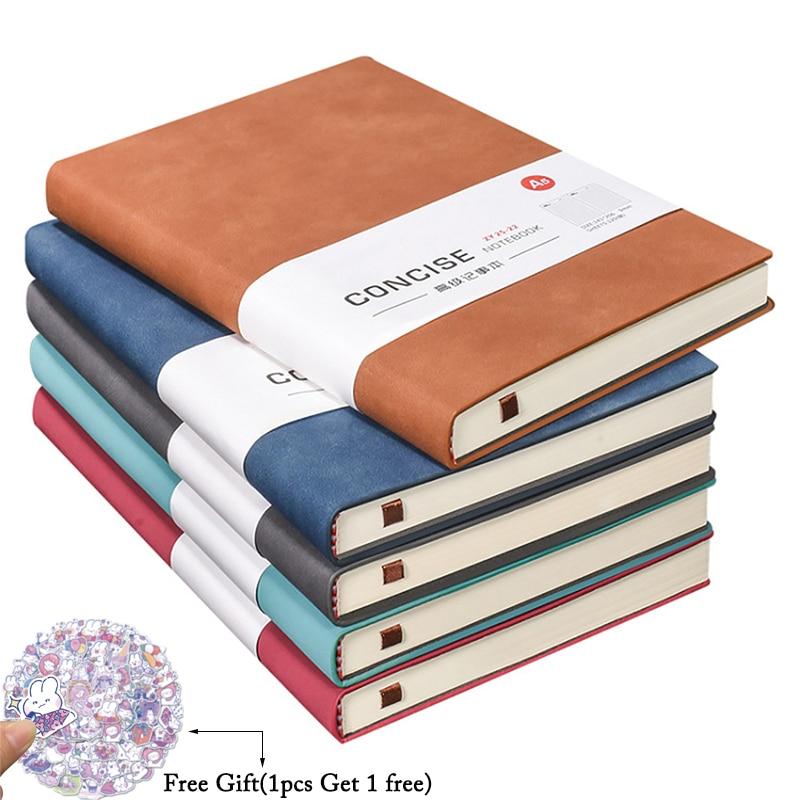 А6 записная книжка и журналы Kawaii блокнот ежедневник повестка дня 2021 Еженедельный планировщик бумага для письма для студентов школы офисные принадлежности 1