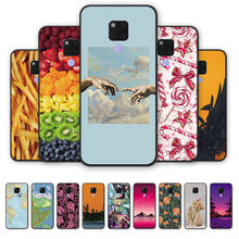 Adstract Funny Case Back Cover For HUAWEI mate20x protective shell silicone tpu cover Geometeic HUAWEI mate20 x(China)