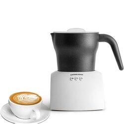 220V Electric Milk Frother Fully Automatic Milk Foamer Professional Espresso Coffee Latte Cappuccino Cold /Hot Foam Maker White