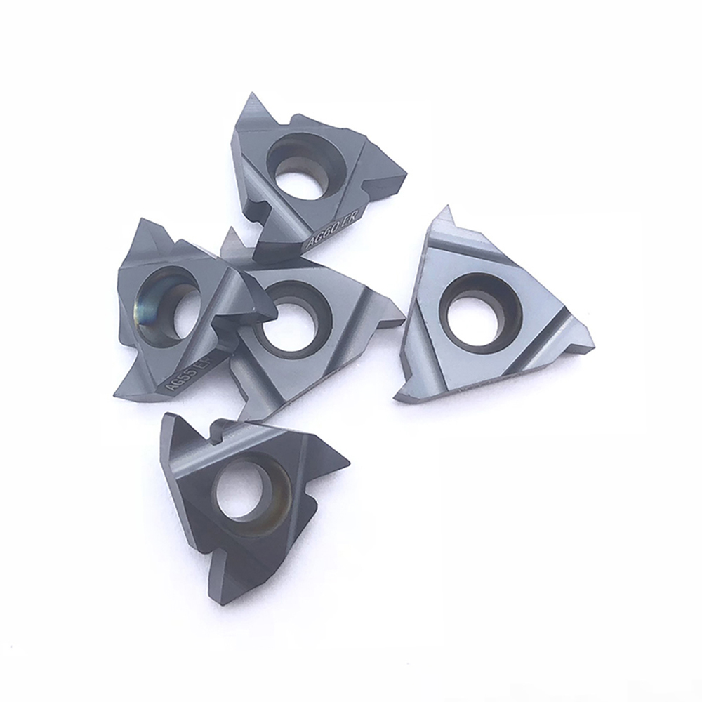 10pcs 11IR A60 Carbide Insert Internal Threading Insert For Turning Tool Holder