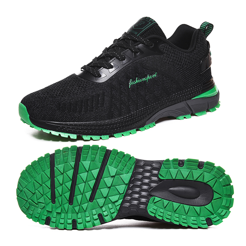 Breathable Golf Shoes Trainers Golf Sneakers Spring Summer Air Mesh Sport Shoes For Man Anti Slip Grass Course Shoes For Golfer