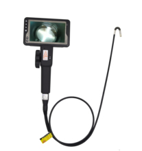2 Directions  Rotation Endoscope Videoscope Camera Auto Focus Industrial Borescope Inspection Snake Camera with Screen for Car