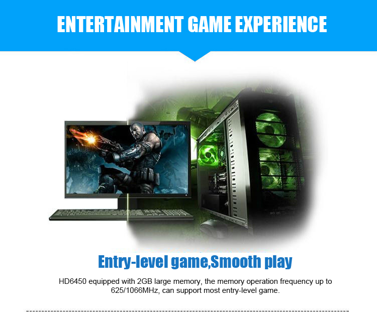 Original GPU Veined Graphics Cards With 625 MHZ Core Speed For ATI Radeon Gaming 9